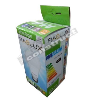 Bec LED Raolux 9 W